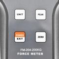 FM-204-200K Digital Force Gauge 1960N Push Force and Pull Force Tester N,kg,lb