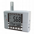 AZ77232 Wall Mount CO2 Temperature Humidity Detector air quality Meter