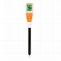 AZ8694 Long tube pH Meter soil rice fruit meat semisolid Alkaline Acid Monitor