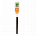 AZ8695 Long Tube Flat Surface pH Meter food paper leather Alkaline Acid Monitor