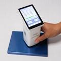 LS173 Portable colorimeter Smart Touch screen D/8 Car paint metal color analyzer