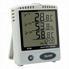 AZ87798 Dew Point RH% Thermo Hygrometer SD Card Logger Humidity Monitor Recorder