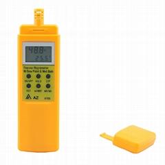 AZ8705 Digital Hygrometer Dew Point Tester WB Temperature Meter Thermo RH% Meter