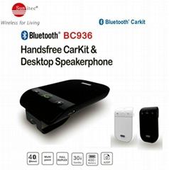 Handsfree Visor-mounted Bluetooth drive in car speakerphones