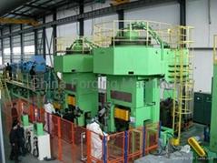 Clutch-operated screw press