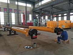 Hydraulic impacting hammer