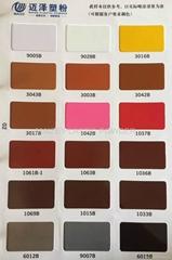 Pantone RAL color powder coating colors