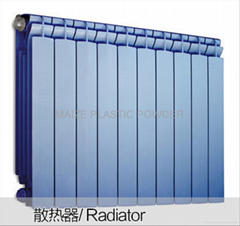 2016 all colors weather resistant powder coating(available for radiator)