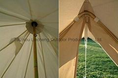 Dream House Diameter 5m Big 4 Season Canvas Cabin Waterproofing Camping Tents