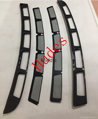 Engine Deck Lid Grille Carbon Fiber For Ferrari F430 Coupe engine side vents