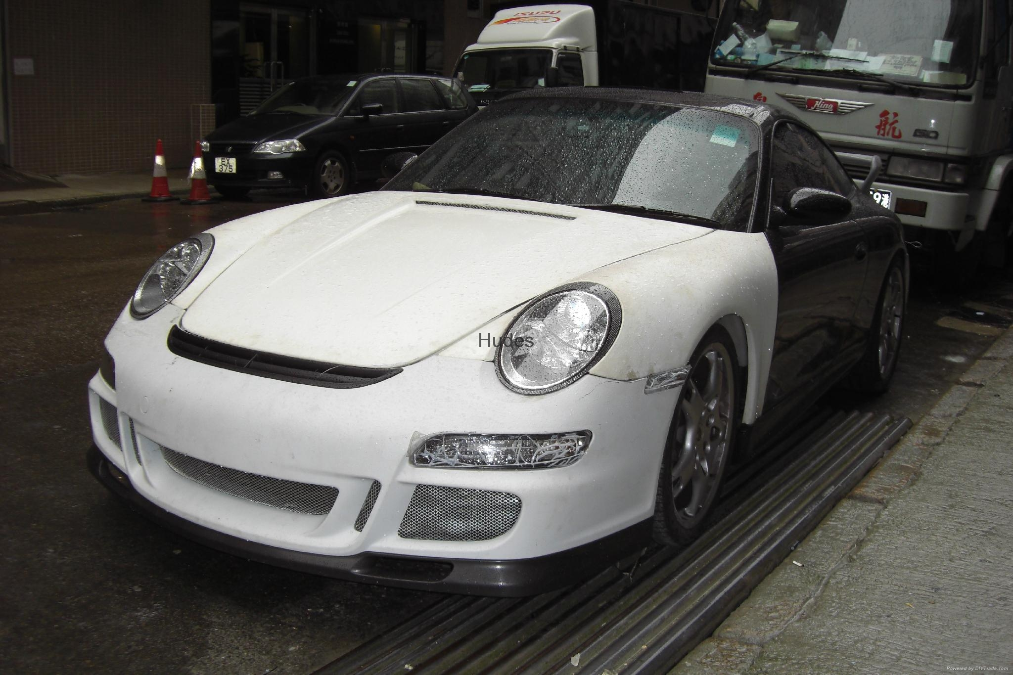 For Porsche 996 change to 997 GT3 body kit