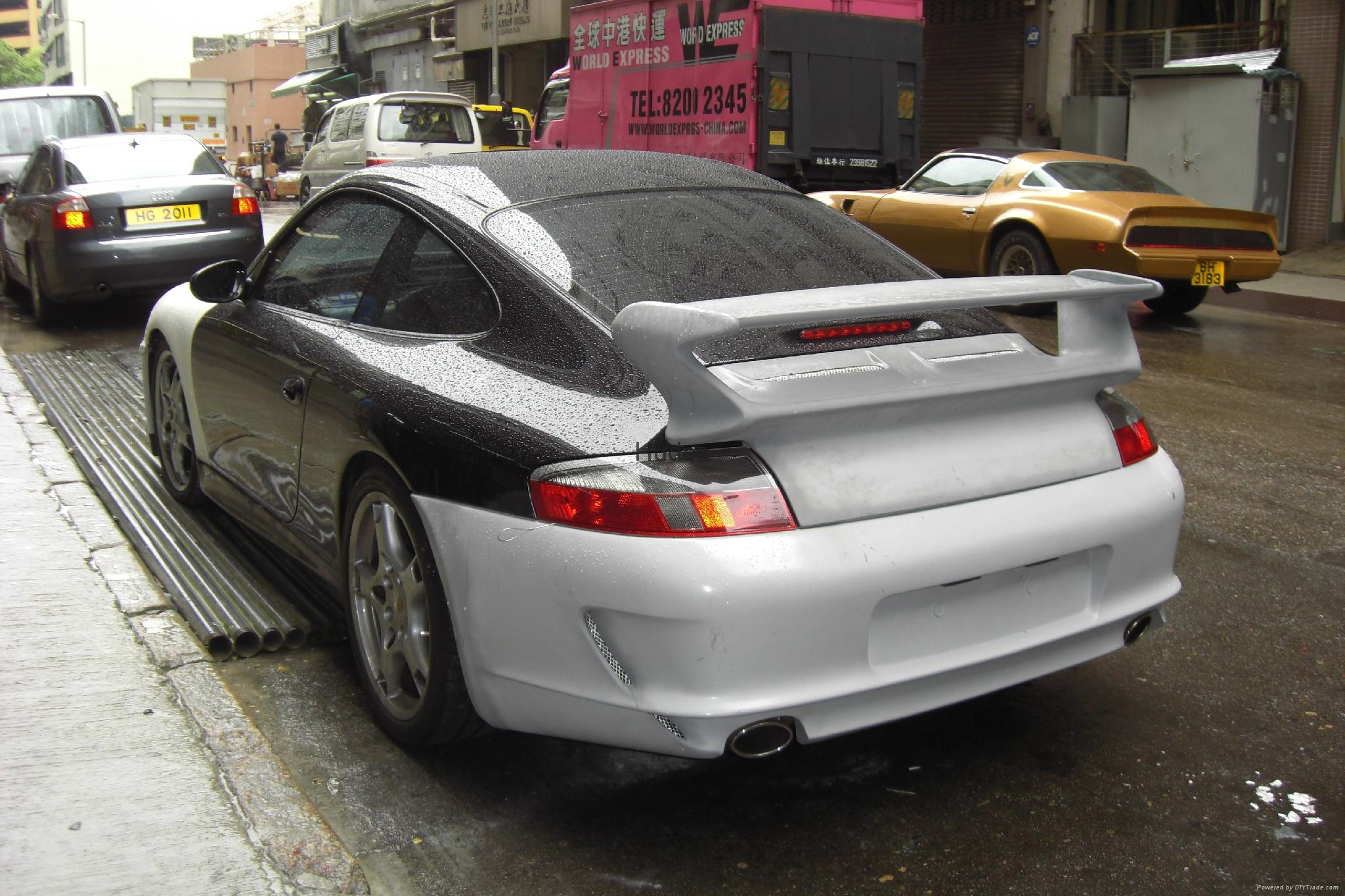 For Porsche 996 change to 997 GT3 body kit 2