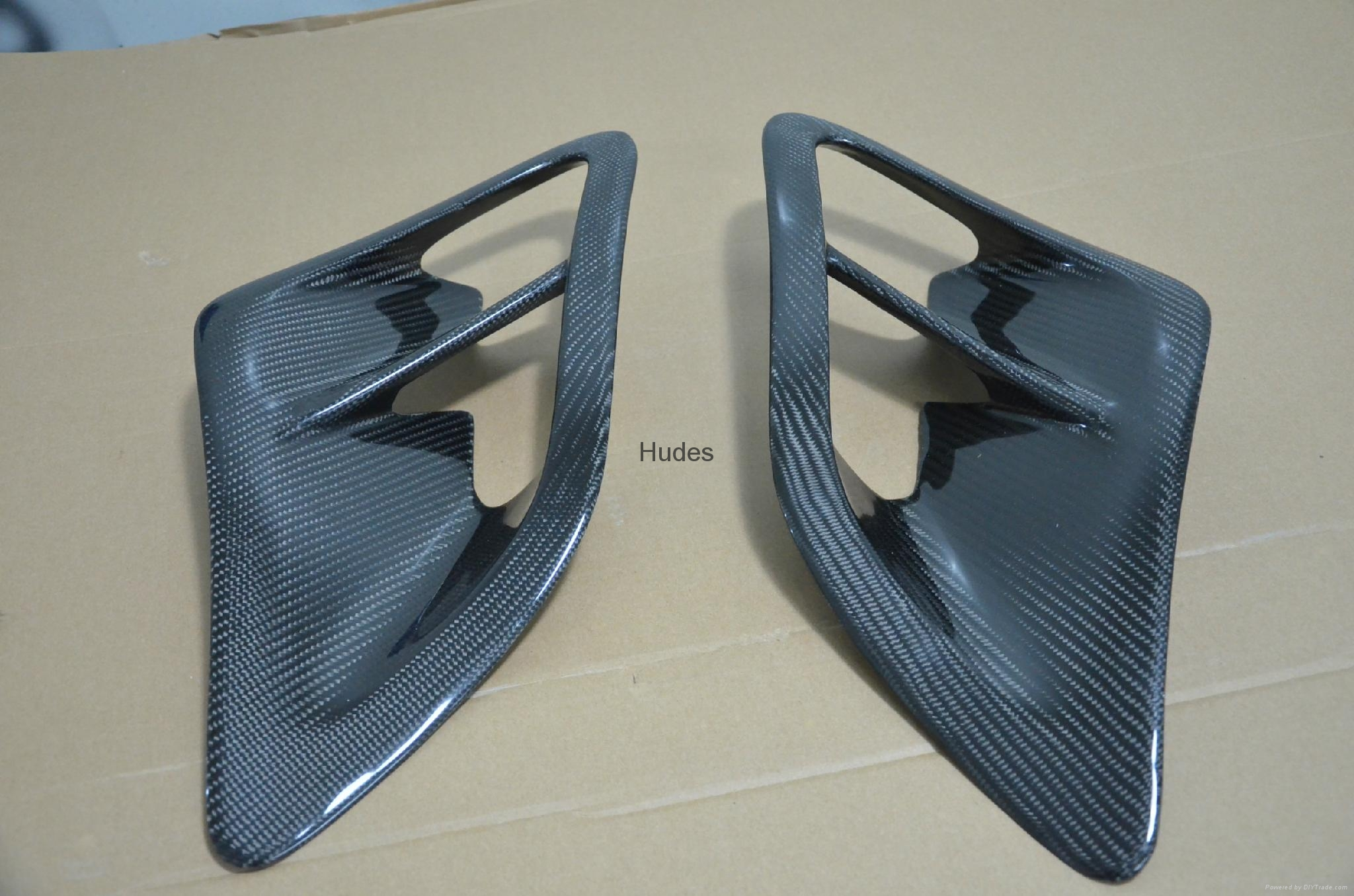 Porsche 997 Side Air Intake Scoops Vents  1