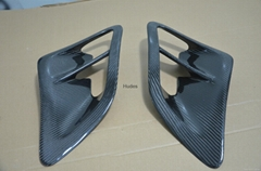 2PC Side Air Intake Scoops Vents For Porsche 2007-2010 997 Turbo & GT2 Turbo