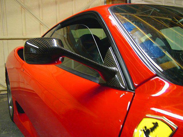 Ferrari 360 GT Carbon side mirror