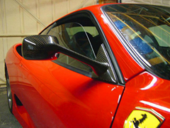 Ferrari 360 GT Carbon side mirror