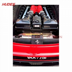 F430 Engine Bay Panels For Ferrari F430 Carbon Fiber Engine Cover Bay Panels