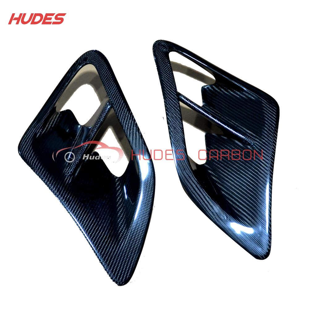 Side Air Intake Scoops Vents For Porsche 2007-2010 997 Turbo