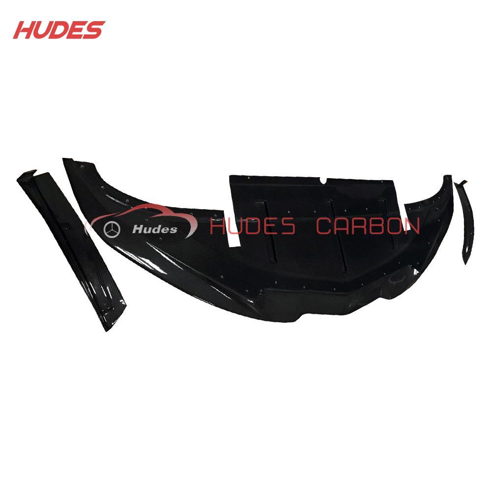 Carbon Front Lip For Corvette C7 Z06Front lip Splitter - 3 Piece 1
