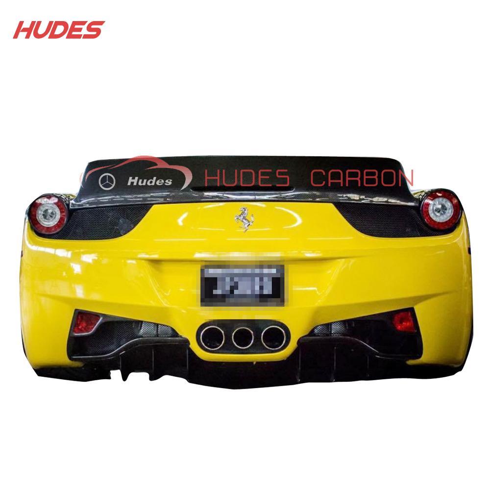 For Ferrari 458 Italy LW Rear Trunk Spoiler