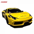 For Ferrari 458 SP Hood Bonnet  FRP