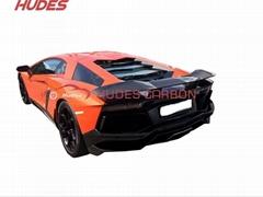 Lamborghini Aventador LP700 Rear spoiler