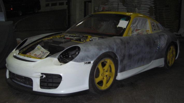 Porsche 99 GT2 Body Kit;Porsche 997 Body Kit