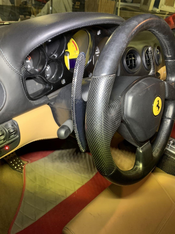 Ferrari 360 Paddle Shift Carbon Replacement