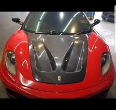 GT Style Carbon Hood/Bonnet For Ferrari 430 GT Hood