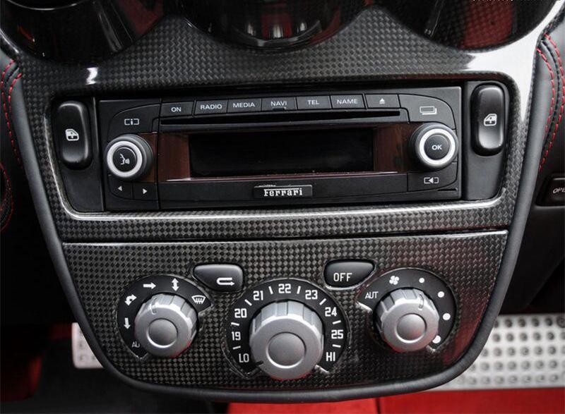 Ferrari F430 Radio Panel Carbon fiber 1