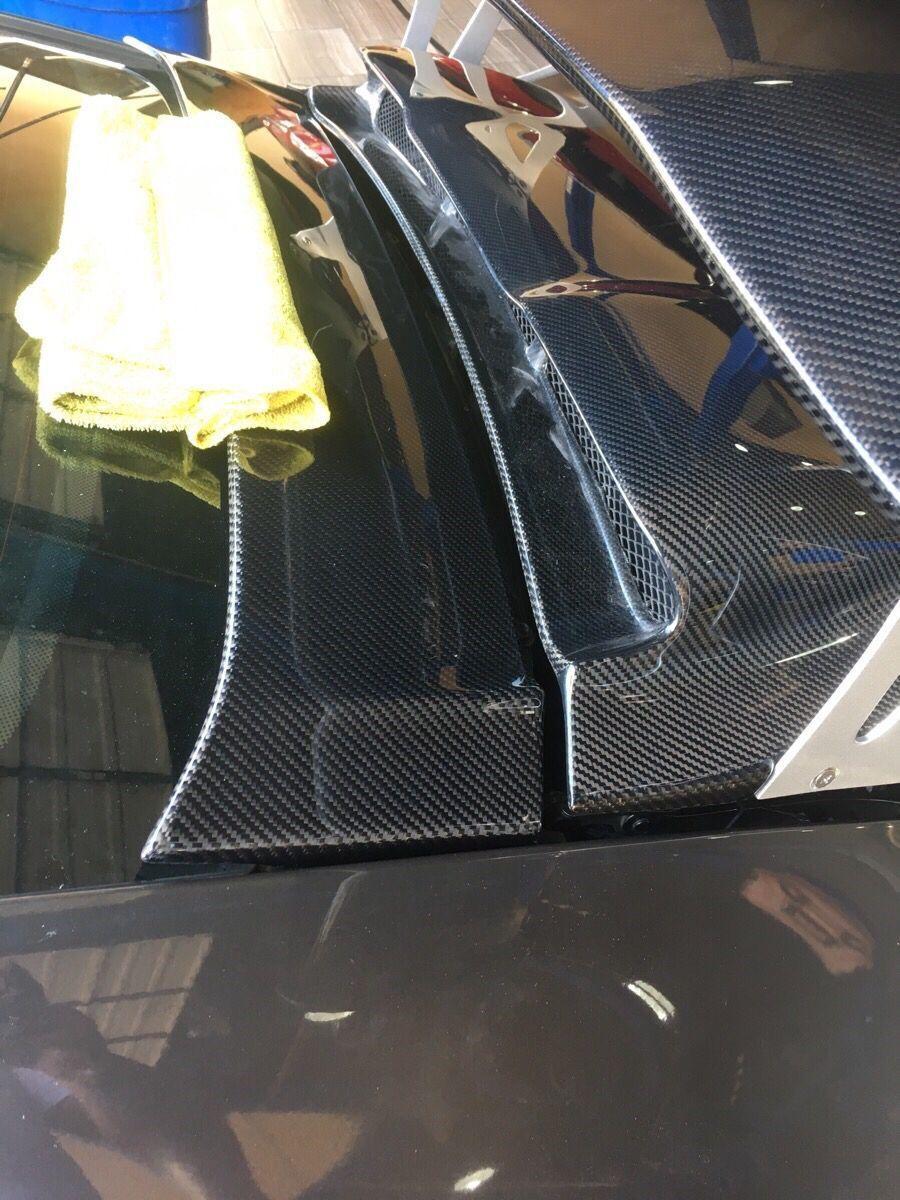 Porsche 997 GT3 RS Rear Trunk Spoiler Wing Carbon 4