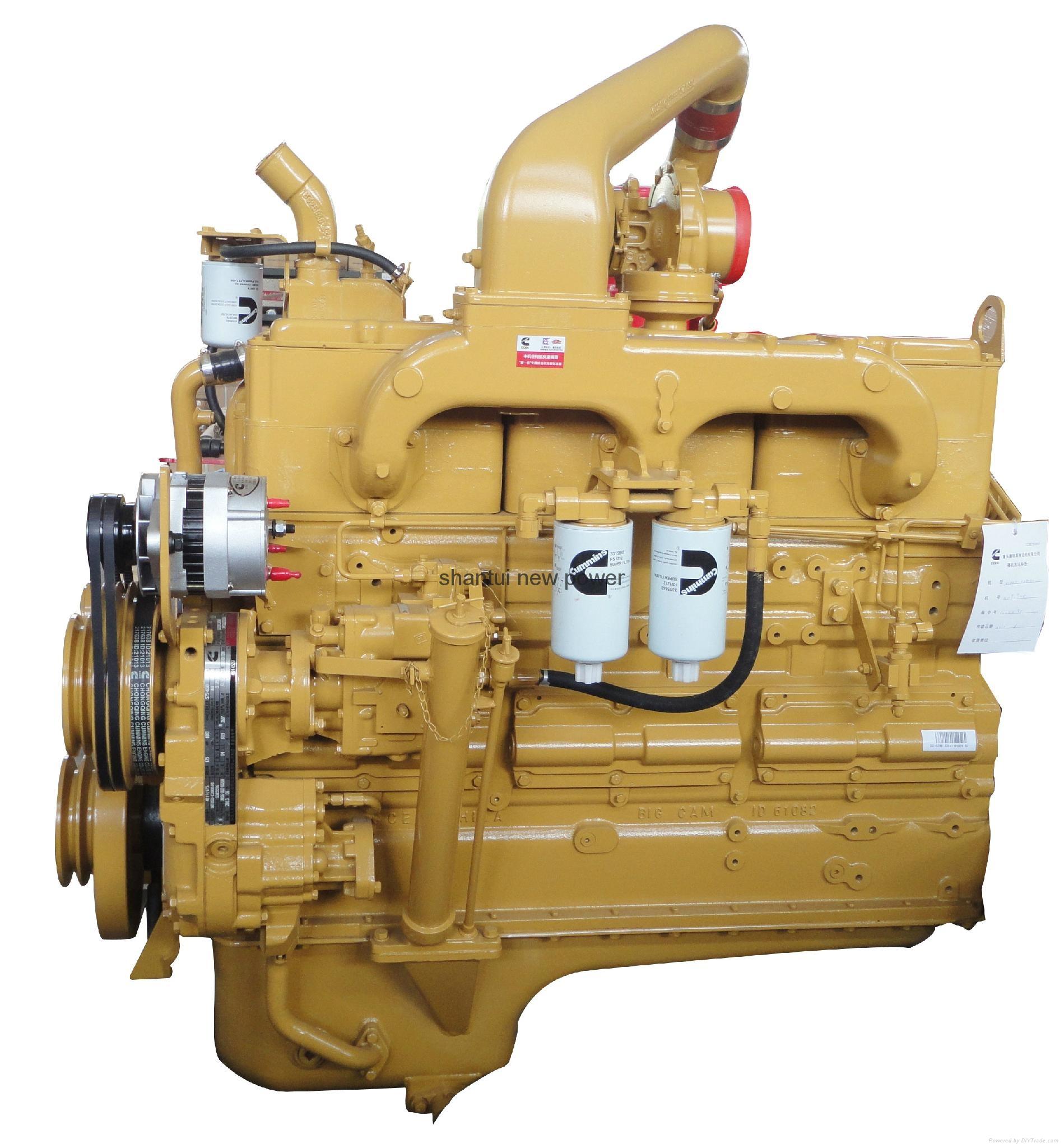 Original Cummins engine NTA855-C360 1