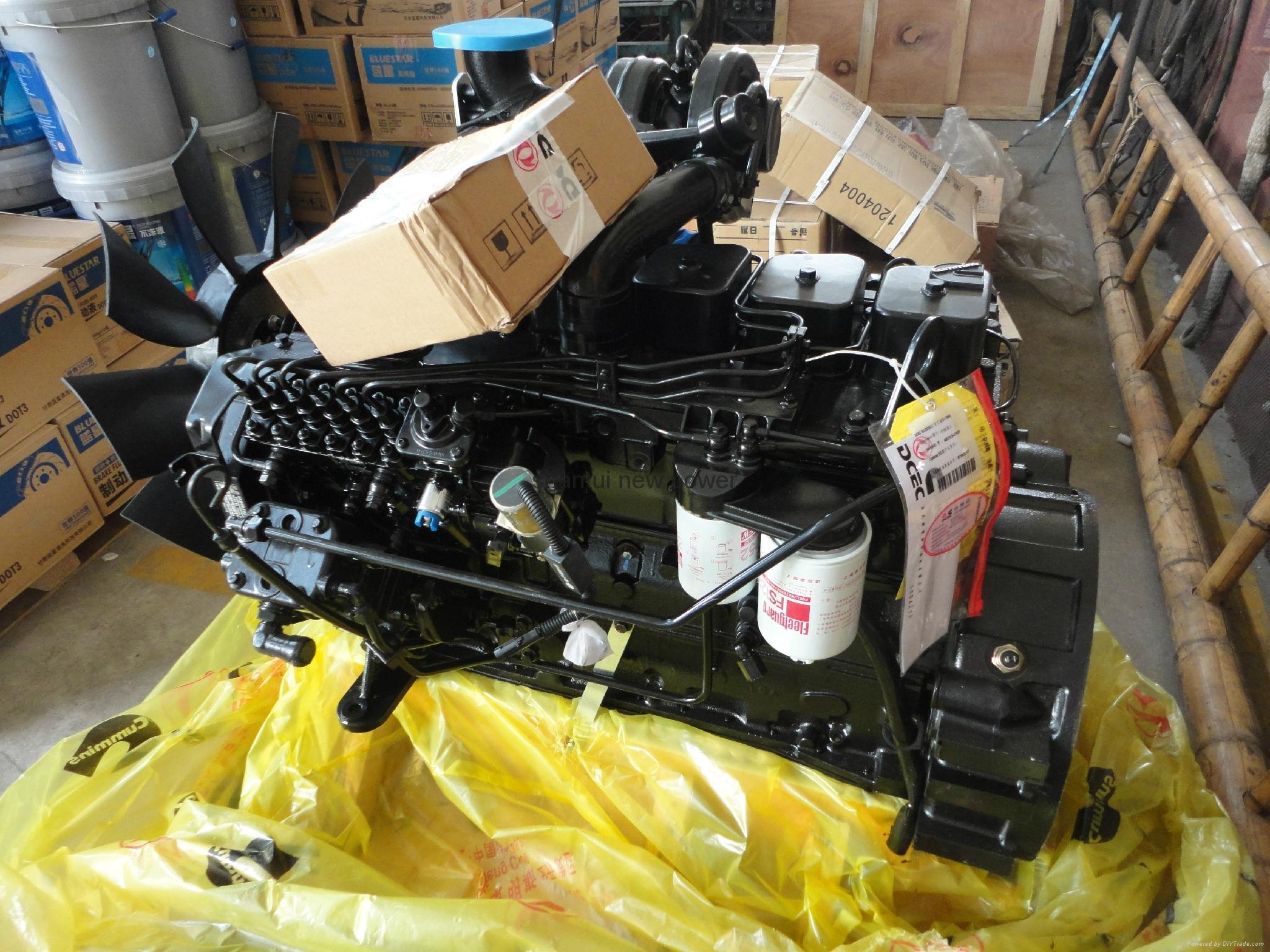 Original Cummins engine 6BT5.9-C130 1