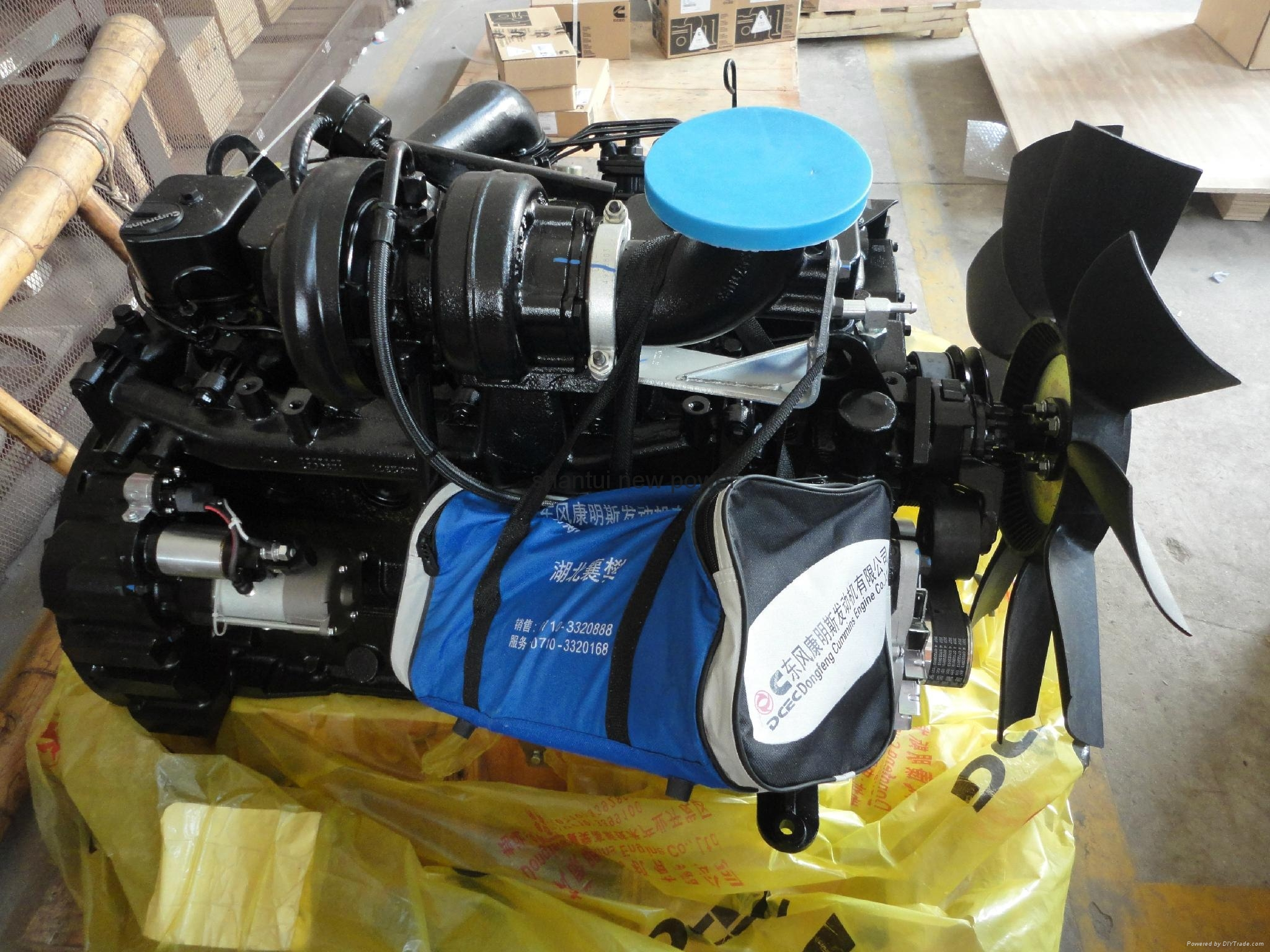 Original Cummins engine 6BT5.9-C150 1