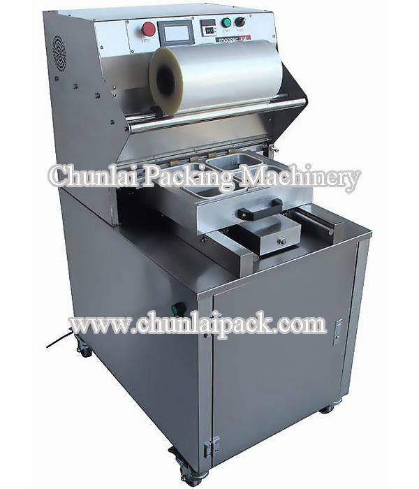 Tray Sealing Vacuum Gas Packing Machine 1