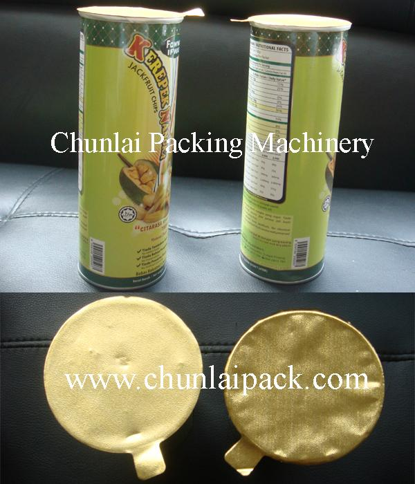Potato Chips Canister Sealing Machine 2