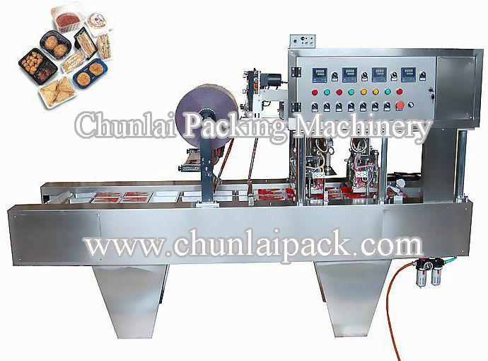 Tofu Tray Sealing Machine 1