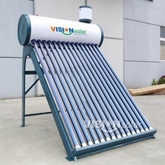 Reliable non-pressurized vacuum tube solar water heater supplier