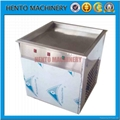 Fried Ice Cream Roll Machine with
