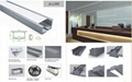recessed led linear light for office