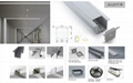 led recessed linear light for office