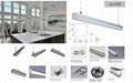 led linear pendant light for office