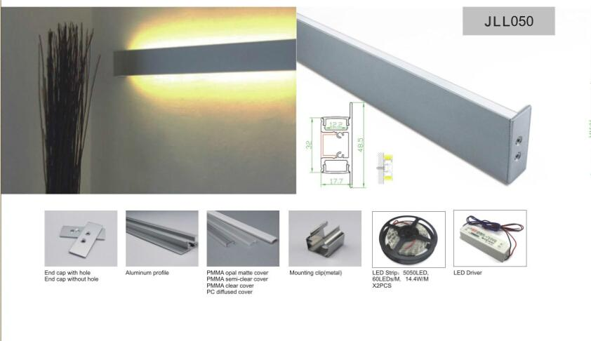 led wall light for linear lighting  1
