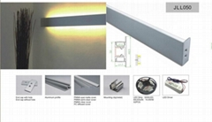 led wall light for linear lighting