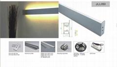 led wall light for linear lighting