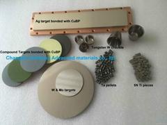 sputtering target evaporation materials