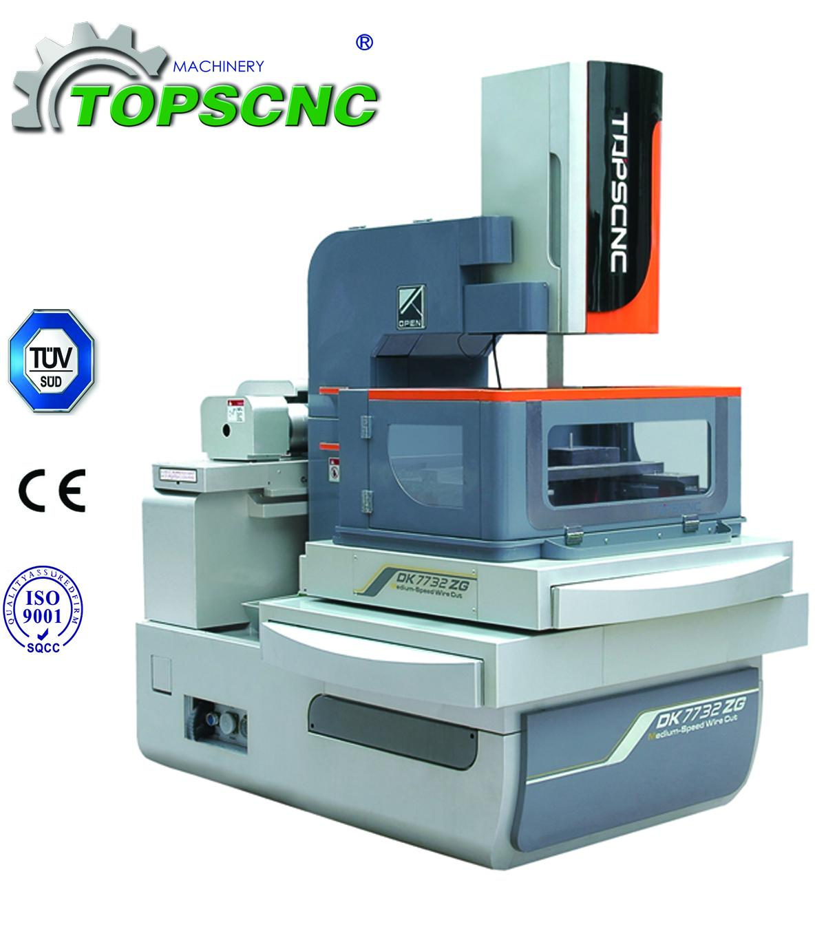 ZG Series 4 axis of Servo Motor Drive CNC Wire Cut Machine ...