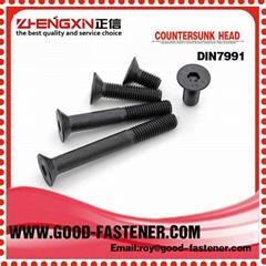 Handan zhengxin fastener countersunk head DIN7991