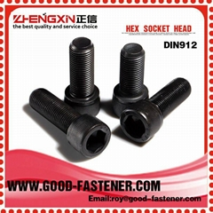 zhengxin high quality fastener factory price screw bolt din912