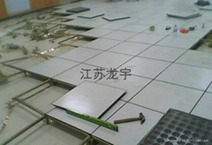 青海西寧陶瓷防靜電地板安裝